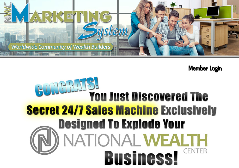 national wealth center marketing system