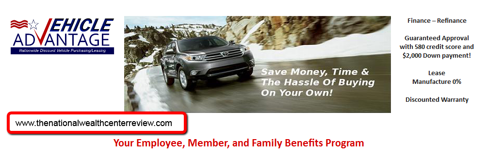 national wealth center vehicle advantage program